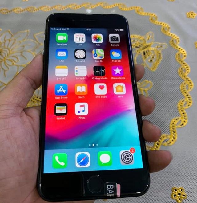 iphone 7 plus 32gb màu đen cũ